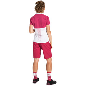 VAUDE Ligure III T-Shirt Women, biały/różowy